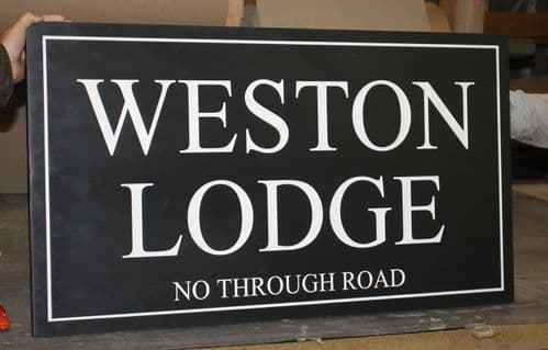 Large Made to Measure Slate Signs (30mm Thick)  The Sign Maker Shop
